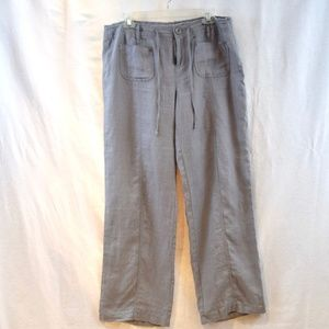 Inc International light grey Linen Pants